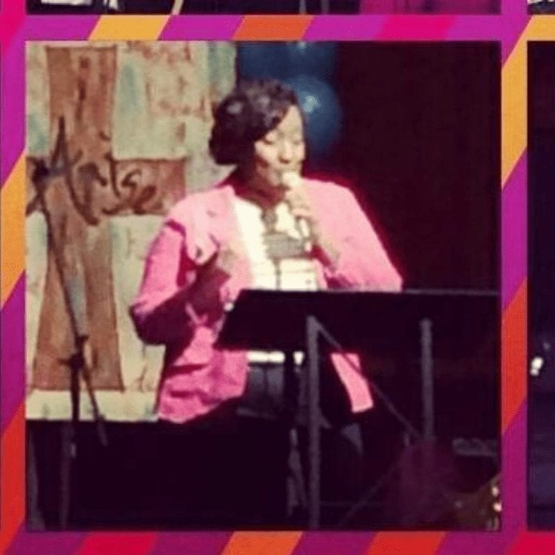 LaWann Moses speaking at The Encounter Women's Conference